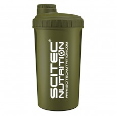 Shaker 0,7 liter Muscle Army zöld