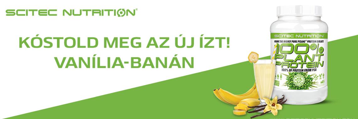 100% Plant Protein - Banán