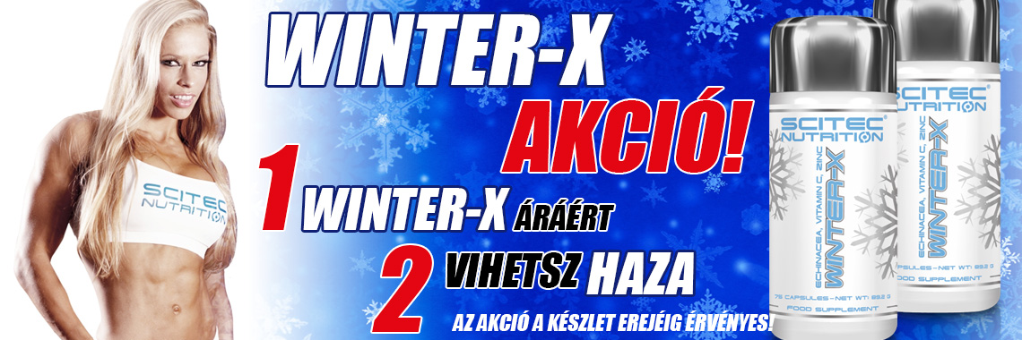 Winter-X akció 2017