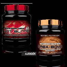 Hot Blood 820 g + Crea-Bomb 660 g