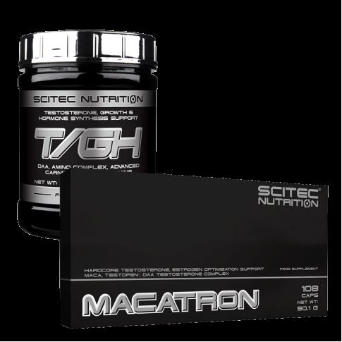 Scitec T/GH és Macatron akció