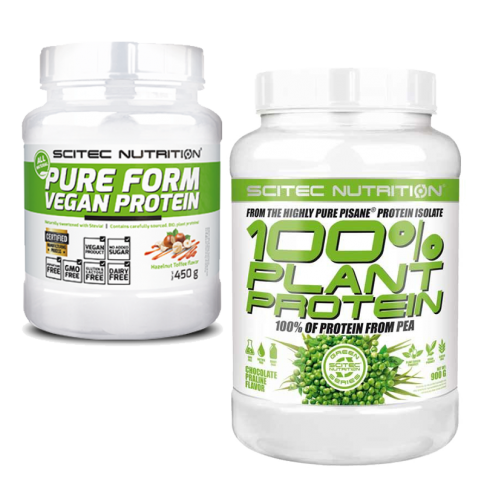 Pure Form Vegan Protein + 100% Plant Protein