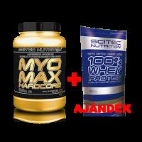 MyoMax HardCore 3080g + 100% Whey Protein 1000g