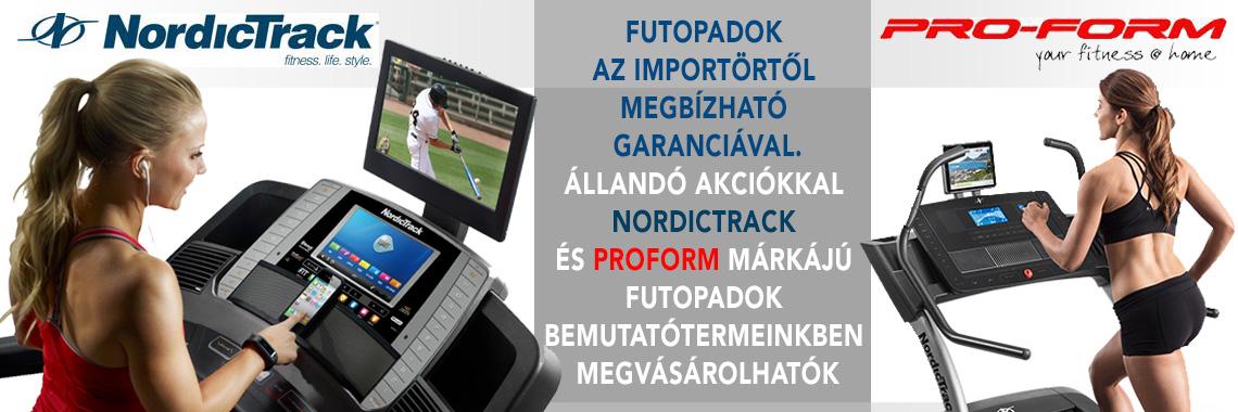 NordicTrack - ProForm futópadok