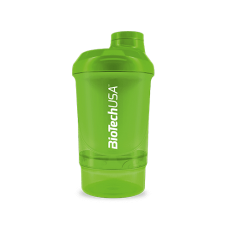 Wave+ Nano Shaker 300 ml (+150 ml) zöld