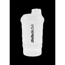 Wave+ Nano Shaker 300 ml (+150 ml) átlátszó