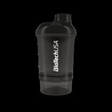 Wave+ Nano Shaker 300 ml (+150 ml) fekete