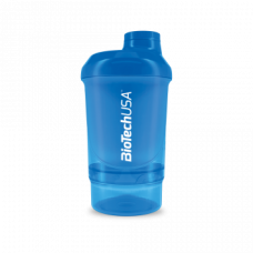 Wave+ Nano Shaker 300 ml (+150 ml) kék