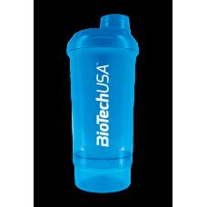 Wave+ Compact Shaker 500 ml (+150 ml) kék