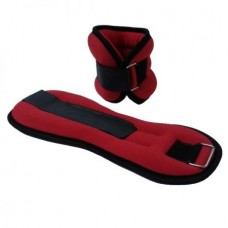 Deka Barbell DB9638 bokasúly 2x1kg (piros)
