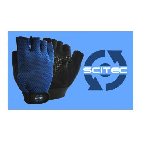 Gloves Basic Blue kesztyű - Scitec