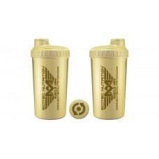Shaker 0,7 liter Muscle Army krém