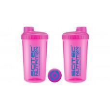 Shaker 0,7 liter neon rózsaszín