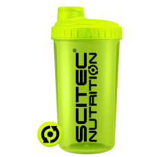 Shaker 0,7 liter neon sárga