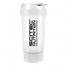 Shaker 0,5 liter (+150 ml) - fehér