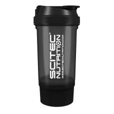 Shaker 0,5 liter (+150 ml) - fekete