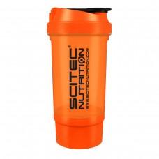 Shaker 0,5 liter (+150 ml) - narancssárga