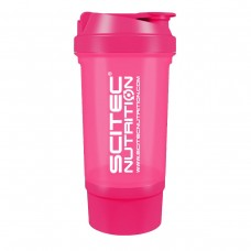 Shaker 0,5 liter (+150 ml) - pink