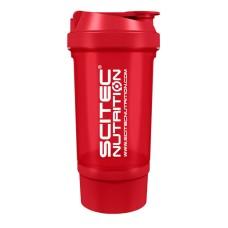Shaker 0,5 liter (+150 ml) - piros