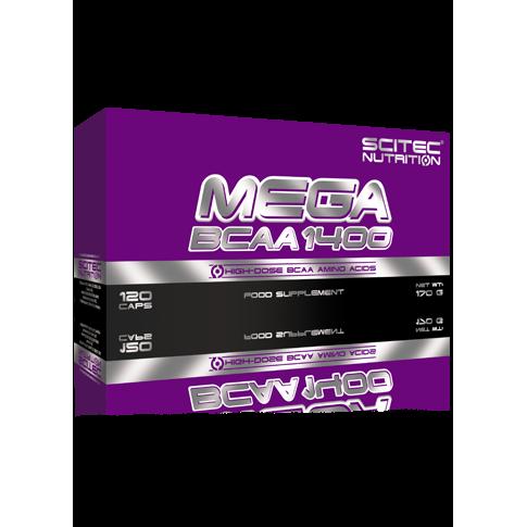 Mega BCAA 1400 - 120 kapszula