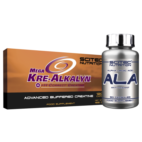 Mega Kre-Alkalyn  + ALA csomagajánlat
