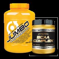Jumbo Professional 3240 g + BCAA Complex csomagakció*