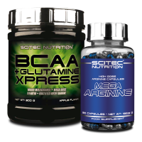 BCAA + Glutamine Xpress + Mega Arginine szett